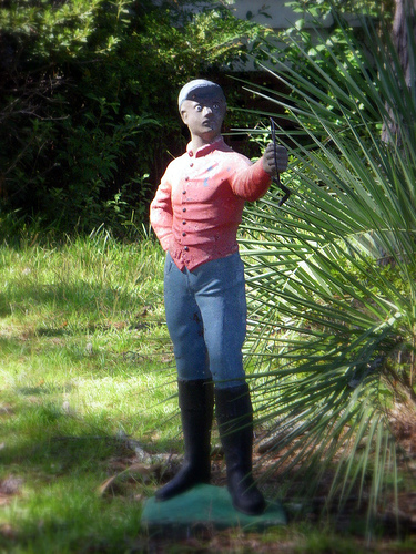 Barack obama pussy lawn jockey remarkable